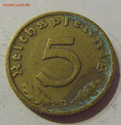 5 пфеннигов 1938 D Германия №3 17.01.2021 22:00 М - CIMG7459.JPG