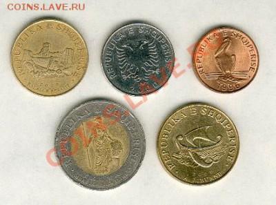 Монеты Европы. Пополняемая. - Albania2