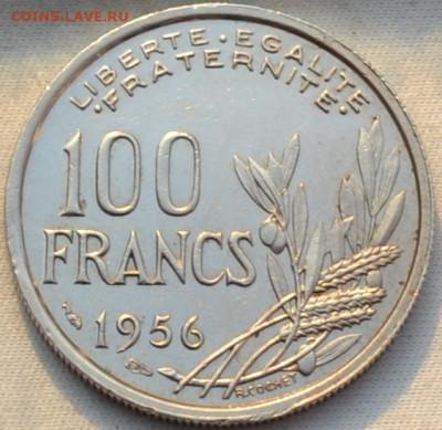 Франция 100 франков 1955. 16. 01. 2021 в 22 - 00. - DSC_0636.JPG