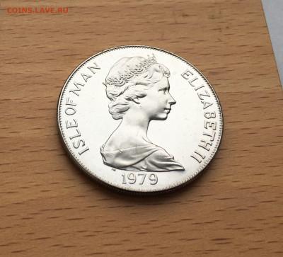 Крона Шайба Остров Мэн 1 крона 1979 300 лет Чеканке монет - IMG_0105.JPG