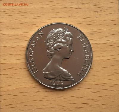 Крона Шайба Остров Мэн 1 крона 1979 300 лет Чеканке монет - IMG_0101.JPG