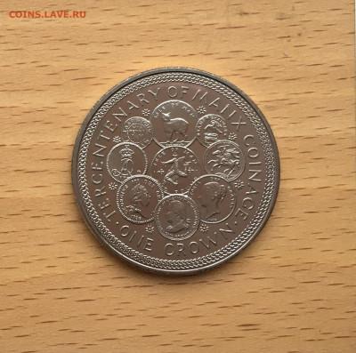 Крона Шайба Остров Мэн 1 крона 1979 300 лет Чеканке монет - IMG_0088.JPG