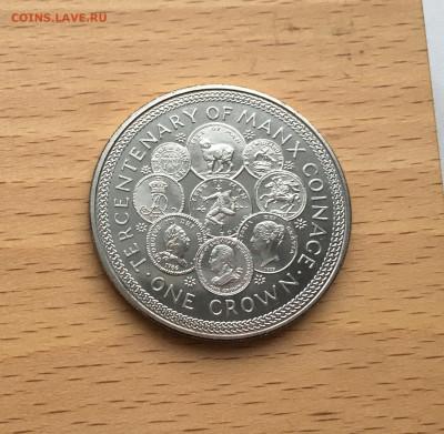 Крона Шайба Остров Мэн 1 крона 1979 300 лет Чеканке монет - IMG_0089.JPG