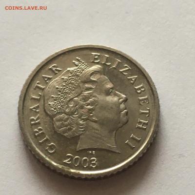 Гибралтар 5 пенсов, 2003 г - image-14-01-21-12-12
