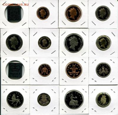 Великобритания набор 1988 пруф до 20.01.21 22-00 мск - GB set 1988 pr