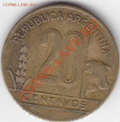 АРГЕНТИНА 20 сентаво 1947 до 5.10 22:00 мск - IMG_0018