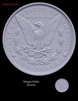 Монеты США. Вопросы и ответы - Morgan-Reverse