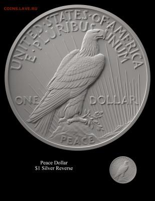 Монеты США. Вопросы и ответы - Peace-Reverse