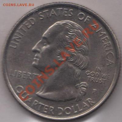 4 доллара 1999 Джорджия до 05.10.11 21-00 - США четвертак 1999 4 р