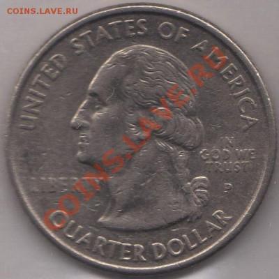 4 доллара 1999 Коннектикут до 05.10.11 21-00 - США четвертак 1999 5 р