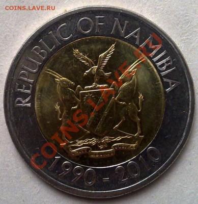 - БИМ - Намибия 10 долларов 2010 20 лет Банку 10.10 21.00 - Намибия 10 долларов 2010-2