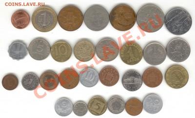 """6 лотов иностранных монет формата """"кот в мешке"""" - 2"""