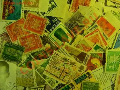 30 старинных монет Англии + 1200 почтовых марок ОДНИМ Лотом. - мини марки 1