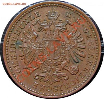 D37 Австрия 1 крейцер 1885 до 11.10 в 22°° - D37 1 1885_2