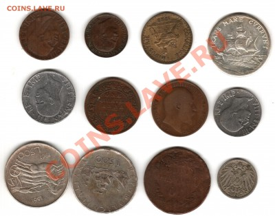 не известные монеты - Изображение