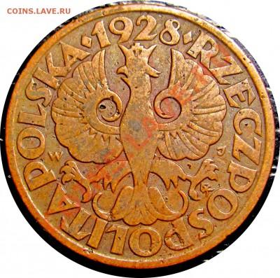 D43 Польша 5 грошей 1928 до 12.10 в 22°° - D43 5 1928_2