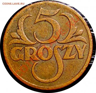 D43 Польша 5 грошей 1928 до 12.10 в 22°° - D43 5 1928_1