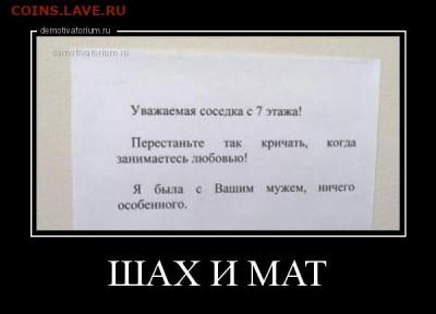 юмор - 9763demotivatorium-ru-shah-i-mat-195839