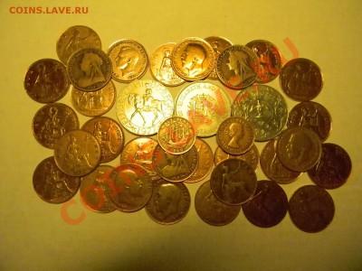 Предлагаю 35 монет Англии от 1897 года. Пенсы, Кроны,и др. - мини 1