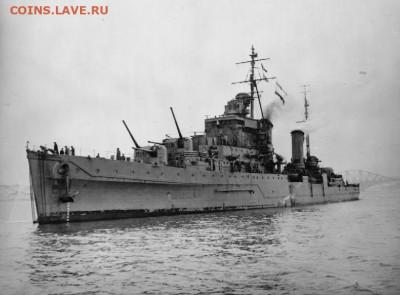Монеты с Корабликами - HMS_Dido_(1939)