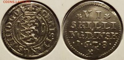 Дания - 6 Skilling 1628
