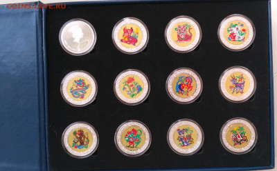 Малави набор 5кв 12шт 2005 Лунный год до 25.02.21 22-00 мск - Malawi 5k set 2005-1