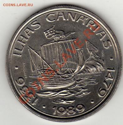 Португалия 100 эскудо 1989 Канары до 13.10.11 22ч (663) - img445