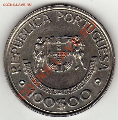 Португалия 100 эскудо 1989 Канары до 13.10.11 22ч (663) - img446
