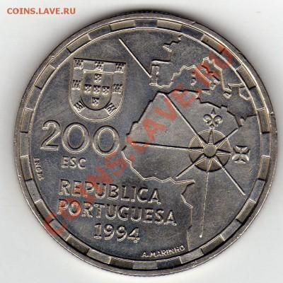 Португалия 200 эскудо 1994 Раздел мира до 13.10. 22ч (676) - img468