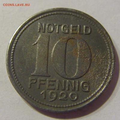 Нотгельд 10 пф 1920 Кобленц №2 09.03.21 22:00 М - CIMG9773.JPG