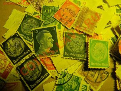 3000 почтовых марок Германии. Недорого. - m 3