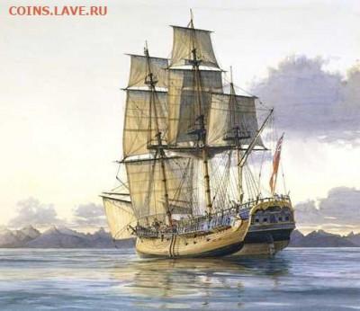 Монеты с Корабликами - Bark Endeavour