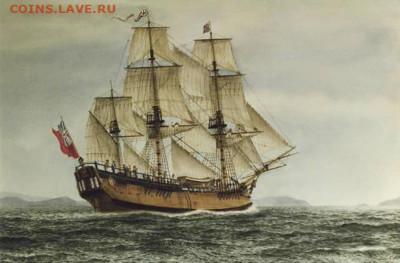 Фрэнк Аллен.Барк «Индевор» капитана Кука - 3-2 Индевор