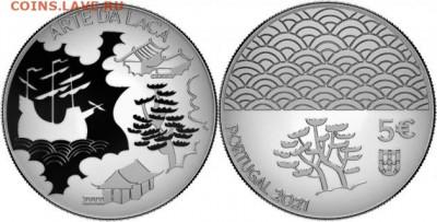 Монеты с Корабликами - португалия