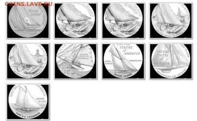 Монеты с Корабликами - Сша.штат Род-Айленд.JPG