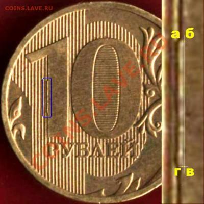 Бракованные монеты - 10 руб 2010 сб.JPG