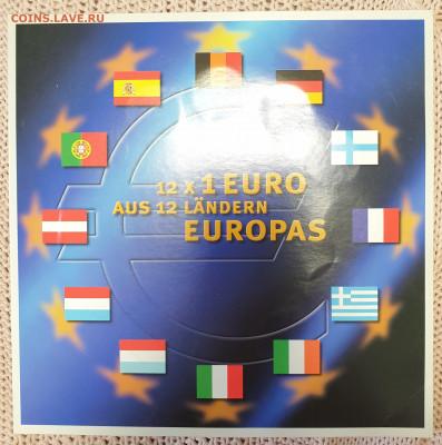 Наборы ЕВРО, Ватикан, юбилейные Евро в буклетах! Оценка! - 20210402_104406