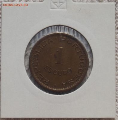 Португальская Ангола 1 Эскудо 1963 до 08.04.21 в 22:00 - Эскудо_1.JPG