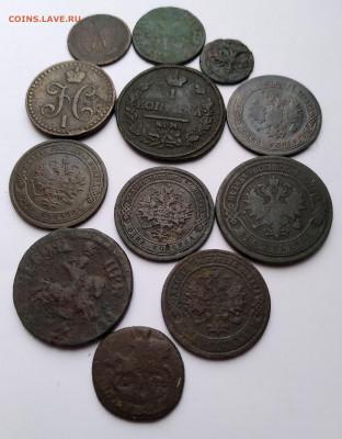 Медь, 12 монет Империи до 13. 04.21г. 22:00 - 20210408_173242