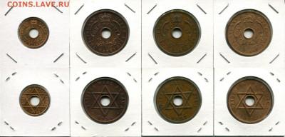 Бр.Запад.Африка подборка пенни Елизавета II до 08.05.21 - BWA dif.QEII