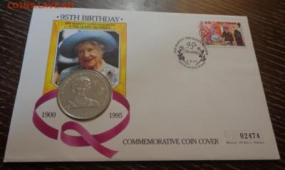 о.МЭН - крона 95 лет Королеве-матери конверт до 11.06, 22.00 - о-в Мэн 95 л Королеве-матери (розовая лента) конв_1.JPG
