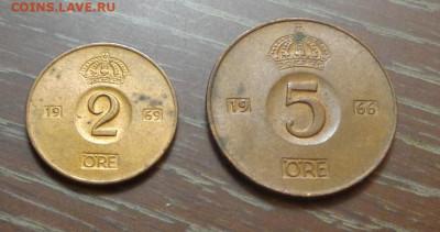 ШВЕЦИЯ - 2 и 5 эре интересные, до 11.06, 22.00 - Швеция 2 эре, 5 эре_1.JPG