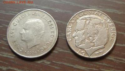 ШВЕЦИЯ - 1 крона ходячка два типа до 11.06, 22.00 - Швеция 1 крона 1977, 2004_1.JPG