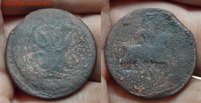 2 коп, 1 коп и денга Елизаветы и Екатерины 19 штука - DSCN0274 (2).JPG