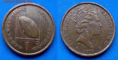 Остров Мэн - 1 пенни 1996 года до 11.06 - Остров Мэн 1 пенни, 1996