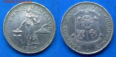 Филиппины - 10 сентаво 1966 года до 11.06 - Филиппины 10 сентаво, 1966