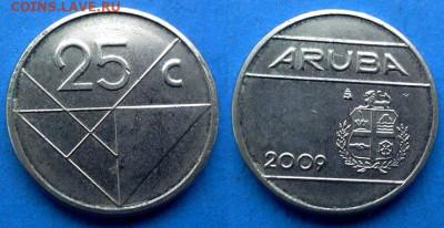 Аруба - 25 центов 2009 года до 11.06 - Аруба 25 центов, 2009