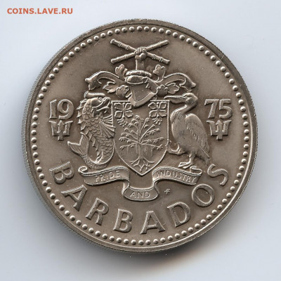 Барбадос 2 доллара 1975 - Matte или Special UNC? - 20210303-IMG_001-4