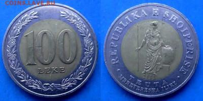 Албания - 100 леков 2000 года (БИМ) до 11.06 - Албания 100 леков, 2000