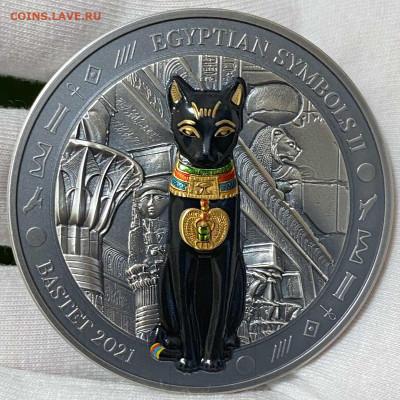 Кошки на монетах - 20 $ 21 Bastet - 1